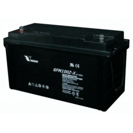 Vision Fully Sealed Battery 12-100Ah 6FM100Z-X
