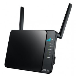 ASUS 4G-N12, 4G LTE mobile broadband, up to 300 Mbps Wi-Fi connections